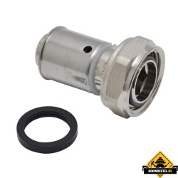 Multi-Fit Connector 3/4 inch voor 20x2mm buis