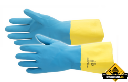 Artelli handschoen pro-chem latex plus maat 8