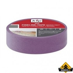 Kip 209-23 finelinetape behang lila 24mm rol 50 meter